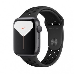Apple Watch Nike Series 5 GPS 44mm Aluminio Gris Espacial con Correa Deportiva Antracita/Negra