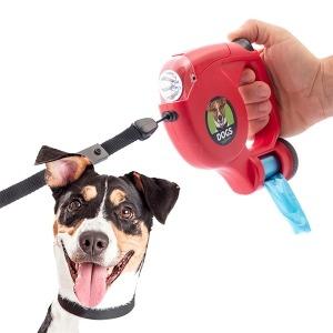 Correa para Perros con LED y Bolsas 5 m