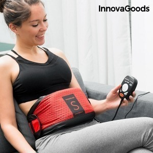 Cinturón Vibratorio con Efecto Sauna S InnovaGoods