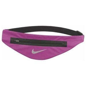 Riñonera Running Nike ANGLED WAISTPACH Negro Fucsia