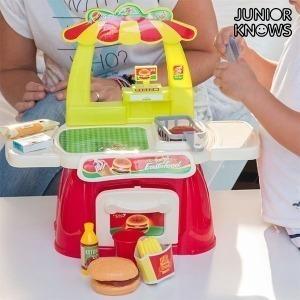 Juego de Comida Rápida con Accesorios Junior Knows