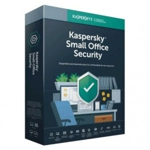 ANTIVIRUS KASPERSKY SMALL OFFICE SECURITY 7 - 10 DISPOSITIVOS / 1 SERVIDOR - 1 AÑO - NO CD