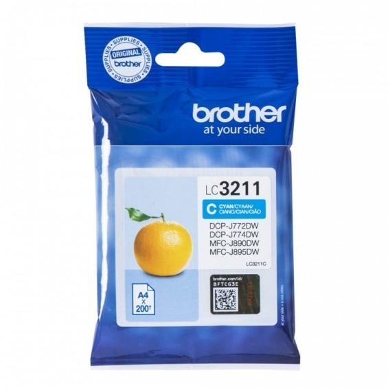 BROTHER LC3211C CIAN ORIGINAL CARTUCHO DE TINTA