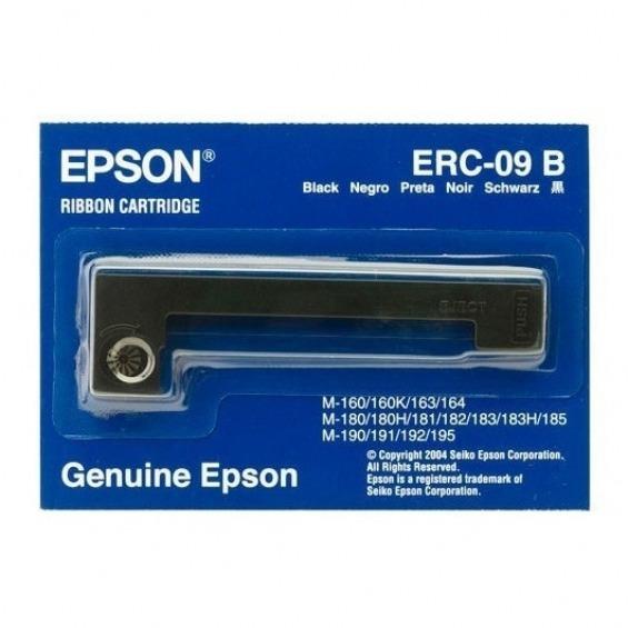 Cinta impresora Epson ERC 09 DE NILON Negro M 160, 180, 190, 195