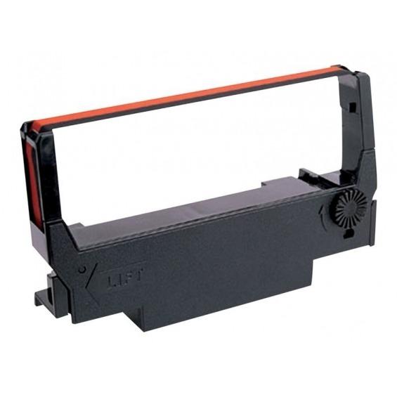 Cinta impresora Epson ERC-38BR Negro-RED TM300A/300B/300C/300D/U200D/U210D/U300A/U300B/U300C.