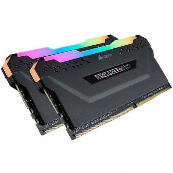 Kit 2xDimm Corsair DDR4 8GB 3200Mhz Vengeance RGB