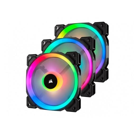Ventilador Corsair LL Series LL120 RGB Dual Light Loop