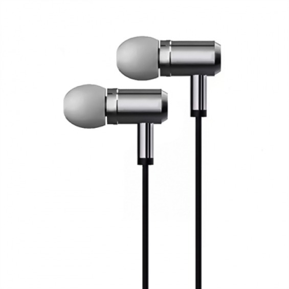 X-One AMI1000S Auriculares In-Ear +mic metal Plata