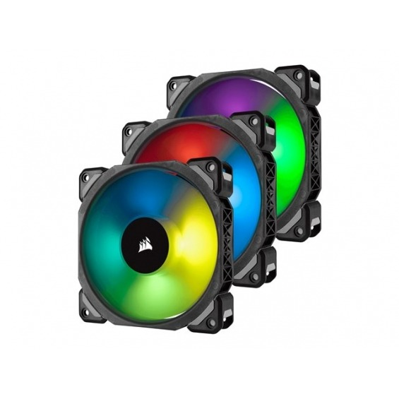 Corsair ML Series ML120 PRO RGB LED Premium Magnetic Levitation - ventilador para caja