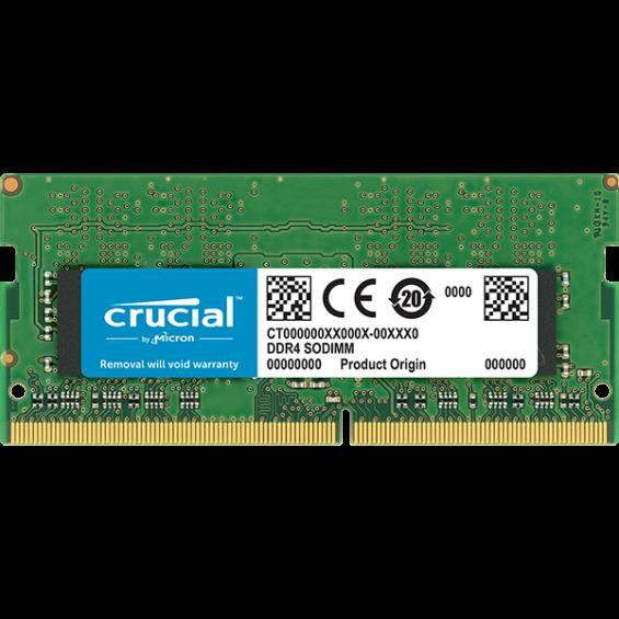 SoDimm Crucial 8GB DDR4 2400MHz