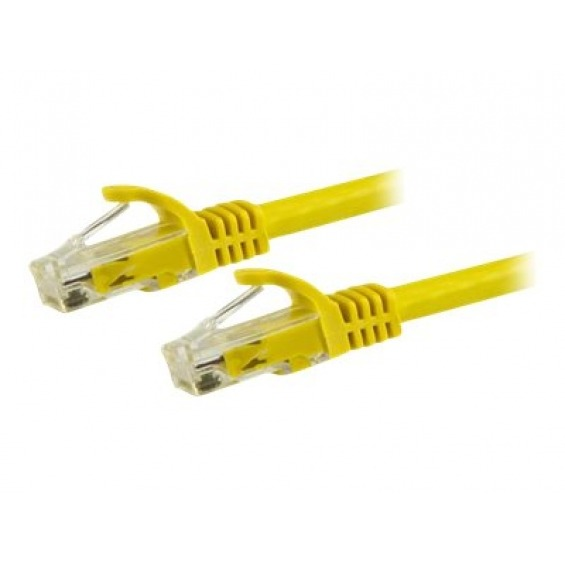 StarTech.com 5m Yellow Cat6 / Cat 6 Snagless Ethernet Patch Cable 5 m - cable de red - 5 m - amarillo