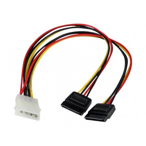 Cable alimentacion Molex M a 2xSata H