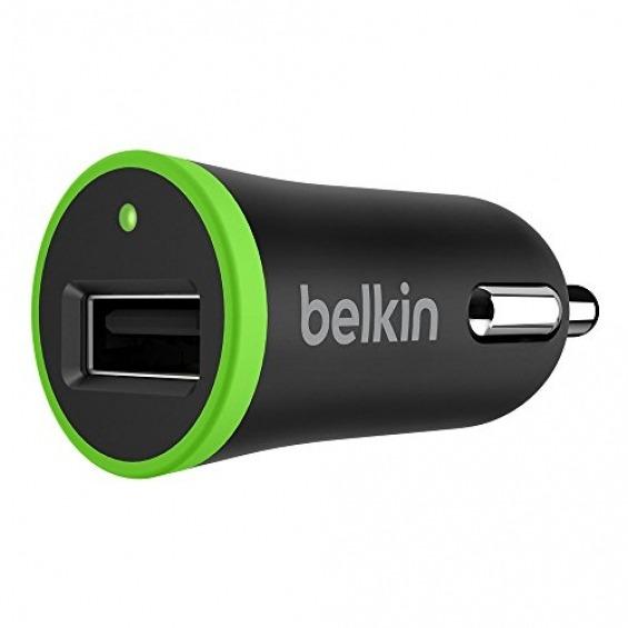 BELKIN CARGADOR DE COCHE 12V 2.4 A, USB 2.0 F8J054BTBLK
