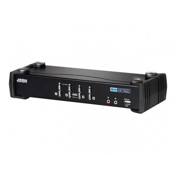 ATEN CubiQ CS1764A - conmutador KVM / audio - 4 puertos