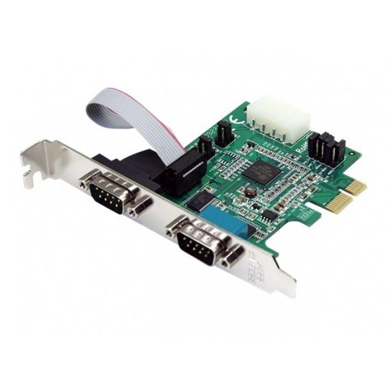 Tarjeta 2 puertos serie Startech PEX2S952