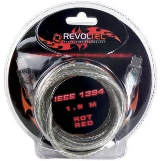 Revoltec Cable IEEE 1394 - 1.8 m
