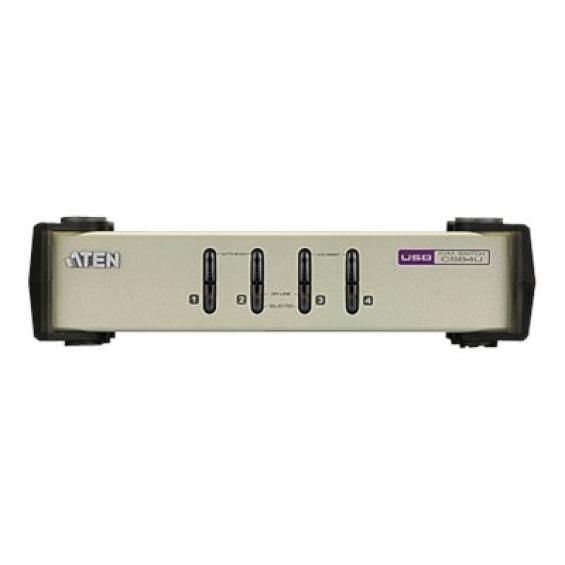 ATEN CubiQ CS84U - conmutador KVM - 4 puertos