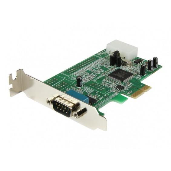 Tarjeta puerto RS232 StarTech PEX1S553LP