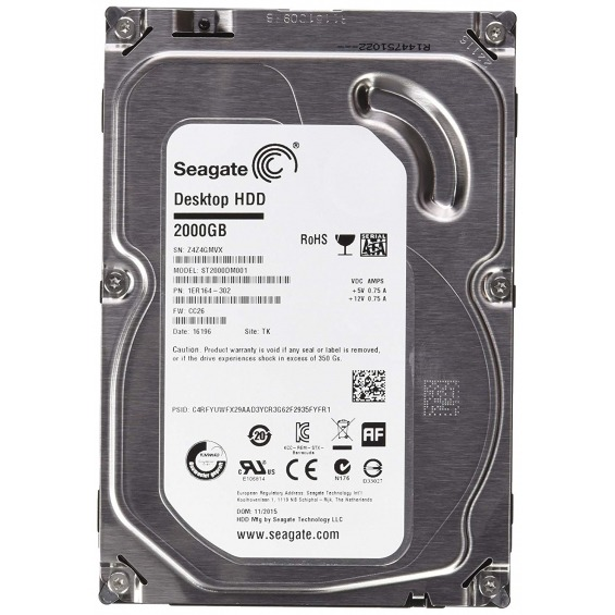 Disco duro Seagate 3TB Video 3.5