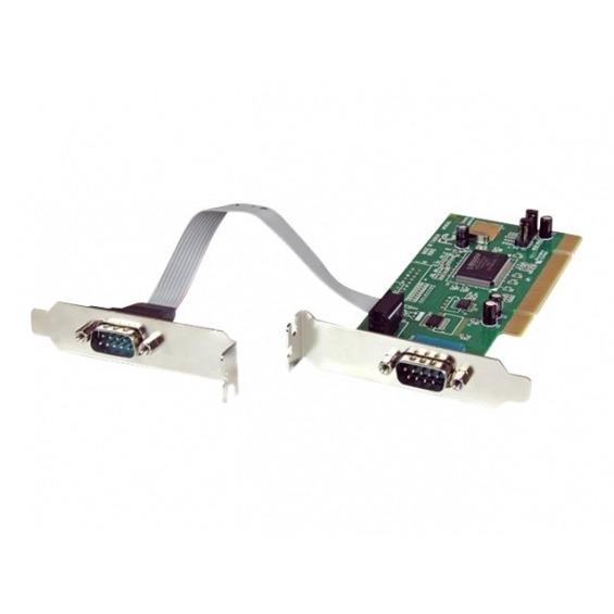 Tarjeta puertos serie Startech 2xRS232 PCI2S550_LP
