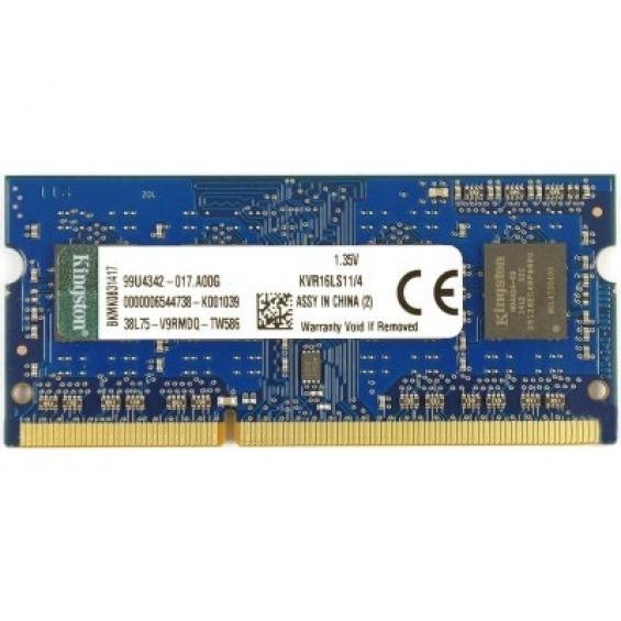 SoDimm Kingston 4GB DDR3L 1600Mhz