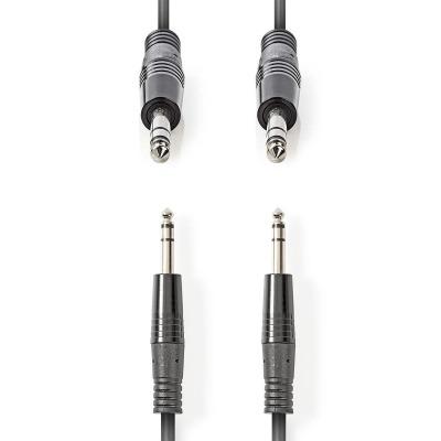 Audio jack 6.3 estéreo