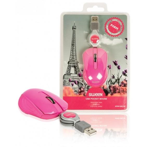 Ratón de bolsillo USB Paris