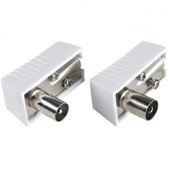 Kit Conector Macho-Hembra de Antena IEC