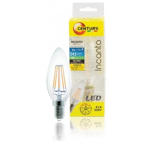 Bombilla de vela LED Incanto, 2W