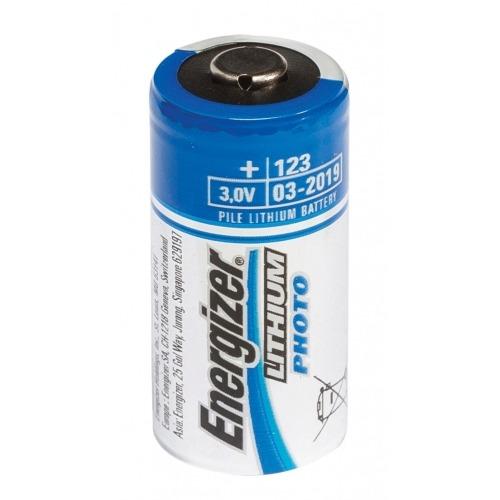 2x Lithium 3V battery EL123 FSB2