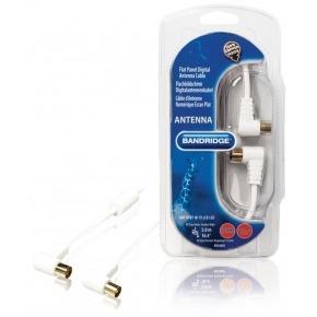 Cable de Antena Digital para Pantalla Plana 120dB 5.0 m