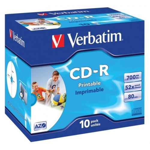CD 700 MB 10 Piezas