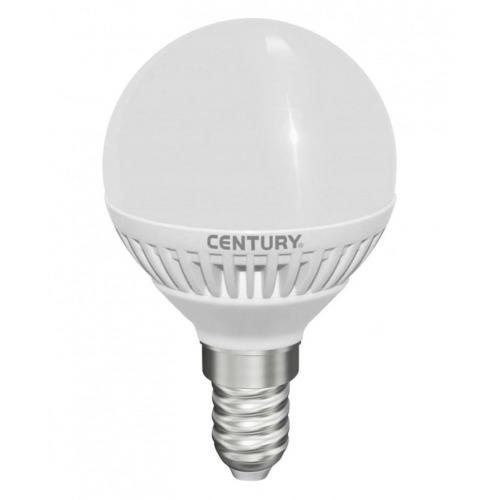 Bombilla globo micro LED con esmerilado, 5W