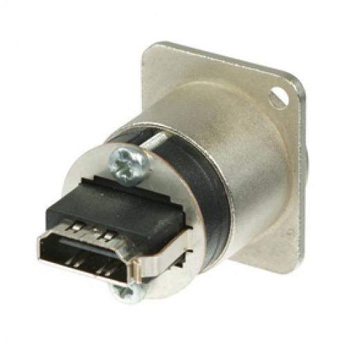 ADAPTADOR DE PASO HDMI 1.3 CON CARCASA EN FORMA DE D NEUTRIK