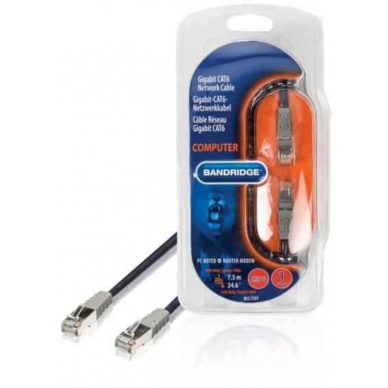 Cable de Red Multimedia CAT6 7.5 m