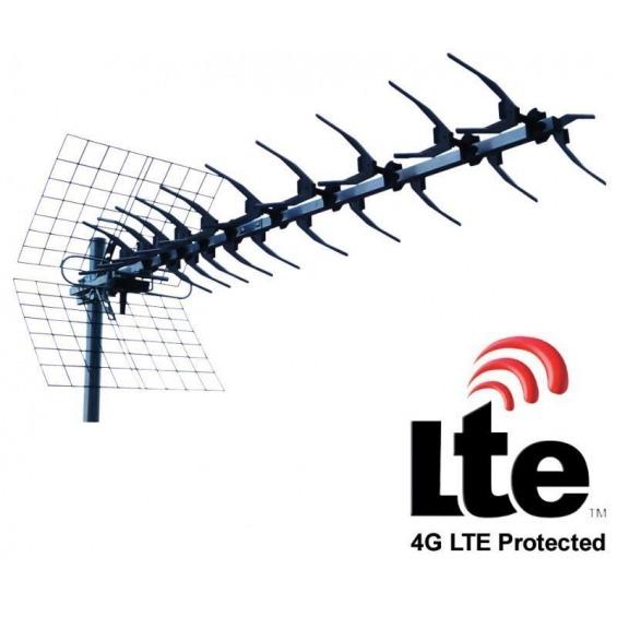 Antena UHF de 13 elementos