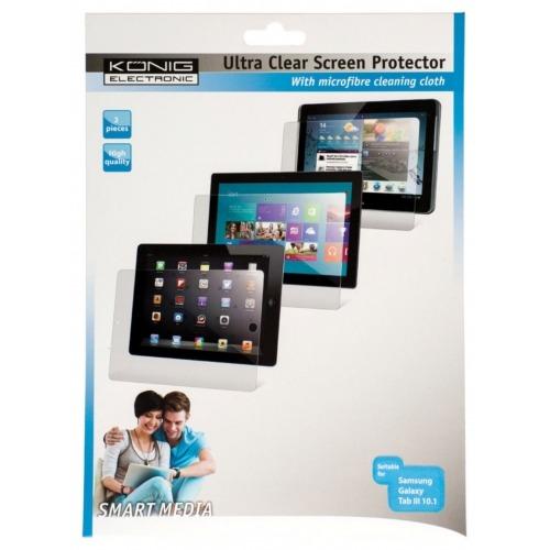 "Protector de pantalla ultra transparente para Samsung Galaxy Tab III 10.1"""