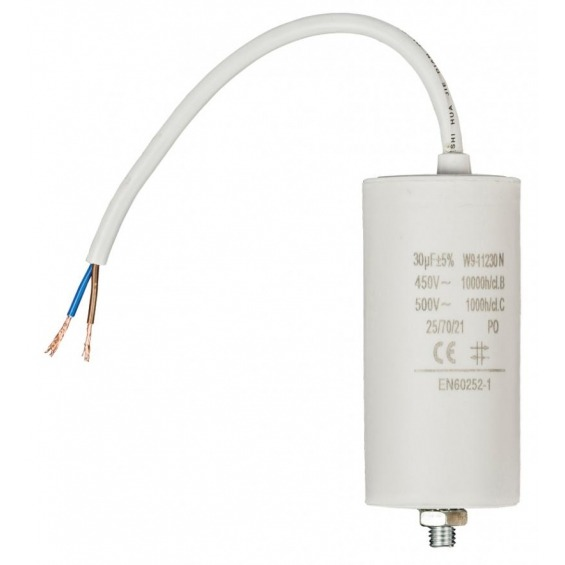 Capacitor 30.0uf / 450 V + cable