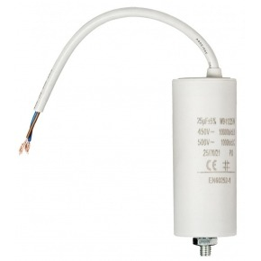 Capacitor 25.0uf / 450 V + cable