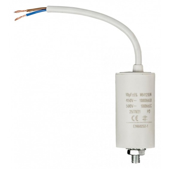 Capacitor 10.0uf / 450 V + cable