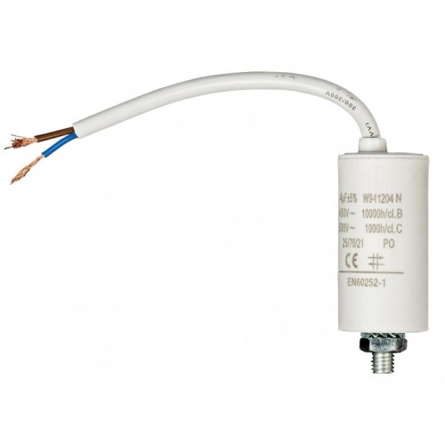 Capacitor 4.0uf / 450 V + cable