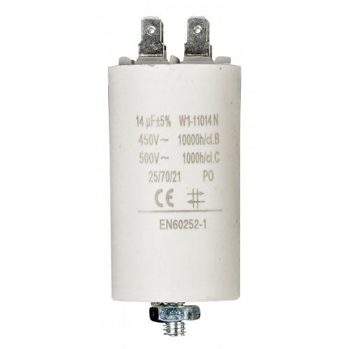 Condensador 14.0uf / 450 V + tierra