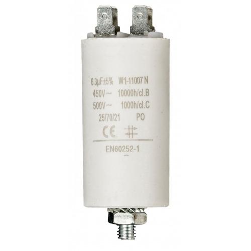 Condensador 6.3uf / 450 V + tierra