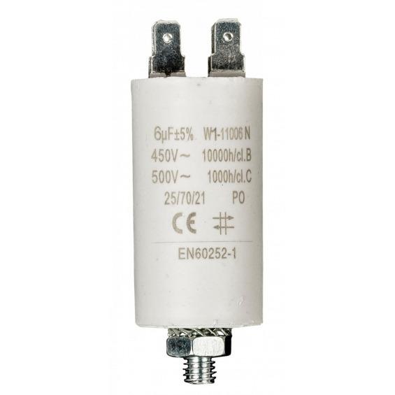 Condensador 6.0uf / 450 V + tierra