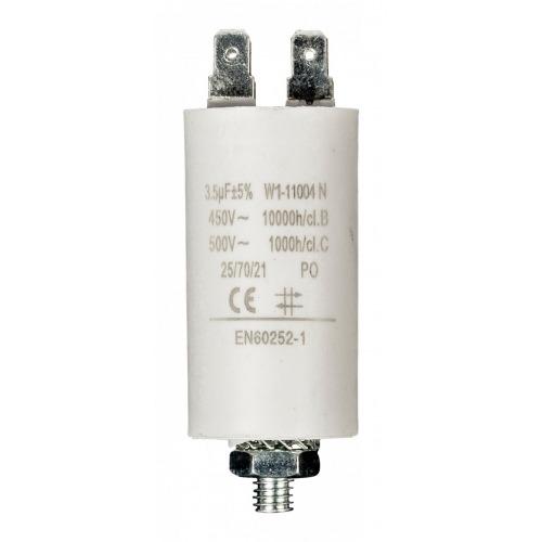 Condensador 3.5uf / 450 V + tierra