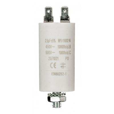 Condensador 2.5Uf / 450 V + Tierra