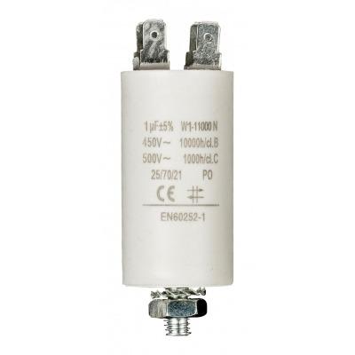 Capacitor 1.0Uf / 450 V + Earth