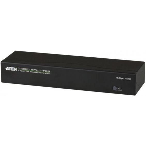 Video/audio splitter VGA, 8-port