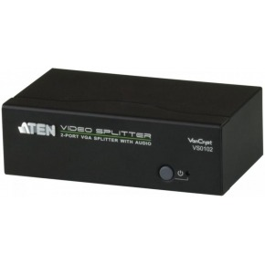 Video/audio splitter VGA, 2-port
