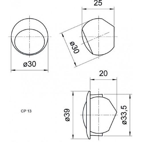 Altavoz compacto 13mm (0.5